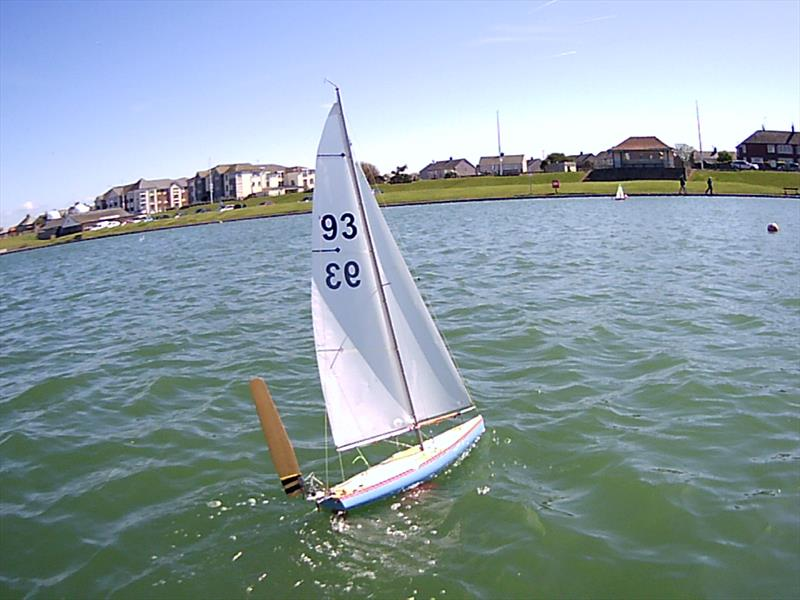 Vane 36R Woods Cup Trophy at Fleetwood Model Yacht Club