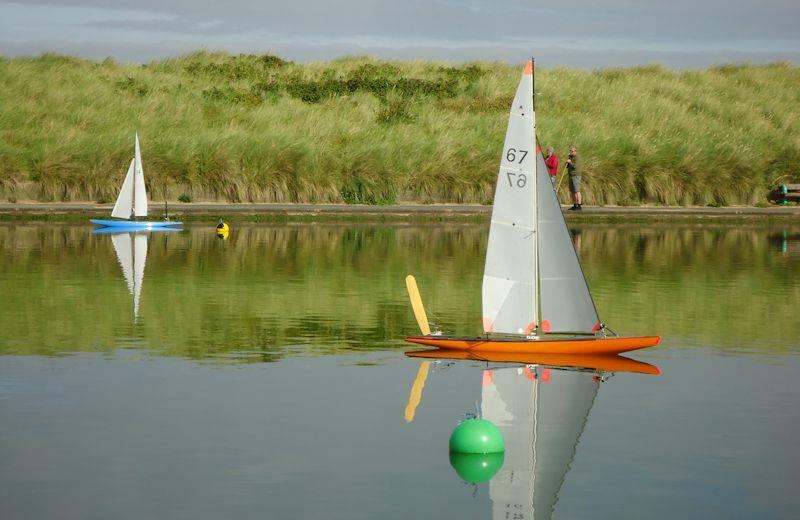 Fleetwood 'A' Boat open vane racing photo copyright Tony Wilson taken at Fleetwood Model Yacht Club and featuring the Model Yachting class