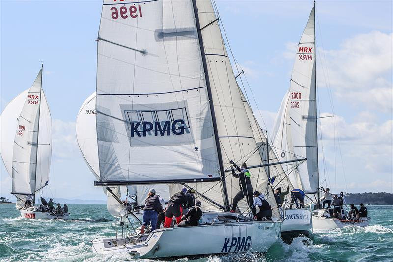 Tight Roundings - Theland NZ Open National Keelboat Championship - photo © Andrew Delves