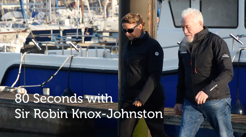80 Seconds with Sir Robin Knox-Johnston episode 5