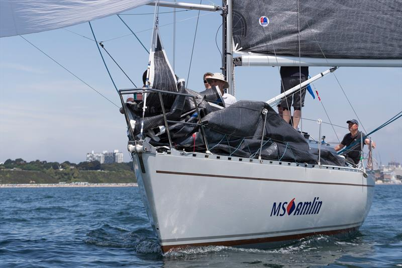 MS Amlin Enigma competing at The International Paint Poole Regatta 2018 - photo © Ian Roman / www.ianroman.com