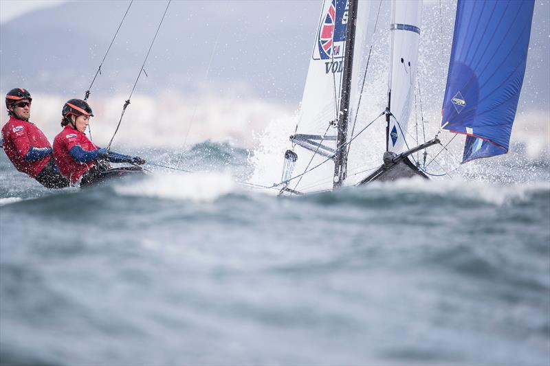 British Sailing Team's John Gimson & Anna Burnet in Palma - photo © Lloyd Images / RYA