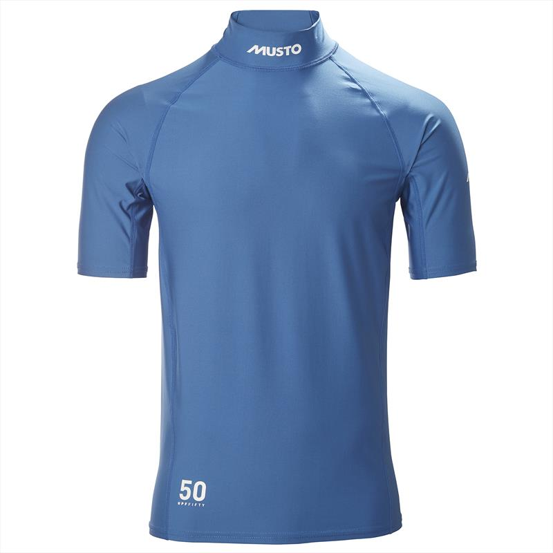 Musto Sunblock Dynamic Short Sleeve T-Shirt - photo © Musto
