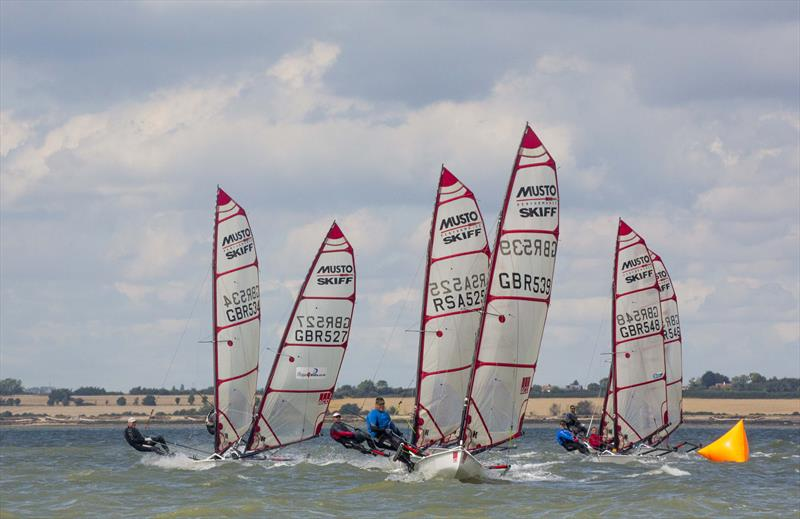 Harken UK Musto Skiff Nationals at Brightlingsea day 1 - photo © Tim Olin / www.olinphoto.co.uk