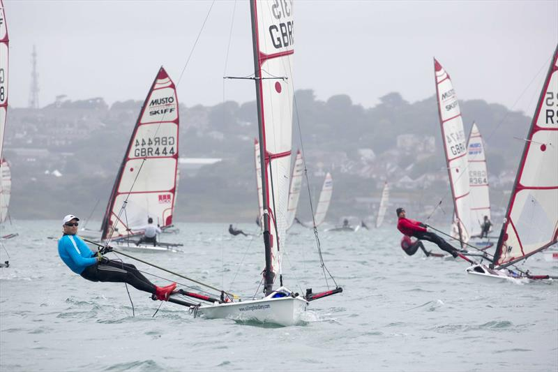 Musto Skiff UK Nationals at Castle Cove SC day 4 - photo © Tim Olin / www.olinphoto.co.uk