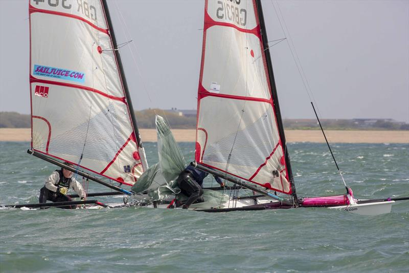 Musto Skiff Harken GBR Circuit Round 2 at Stokes Bay - photo © Tim Olin / www.olinphoto.co.uk