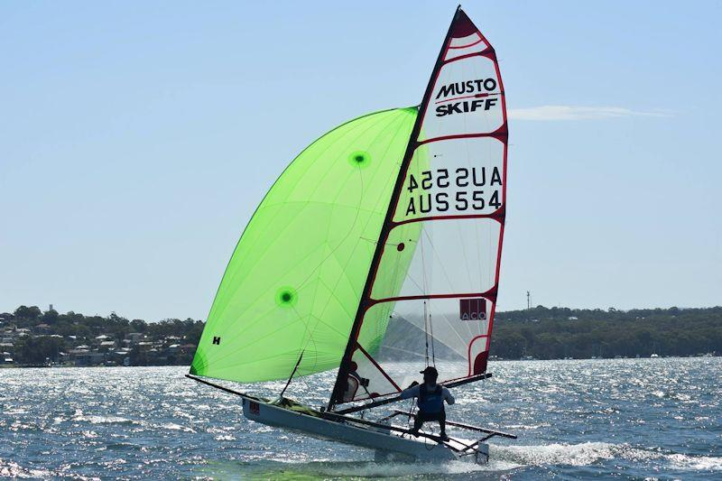 Spud Muffin at the Australian Musto Skiff National Championship 2019 - photo © Phil Mayo