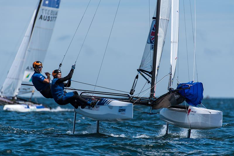 2018 49er, 49erFX and Nacra 17 European Championship - Day 3 - photo © Drew Malcolm - www.drewmalcolm.com.au