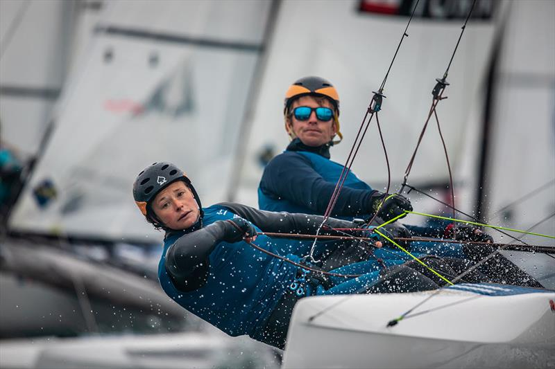 Day 5 of the Volvo Nacra 17, 49er and 49er FX European Championship - photo © Nick Dempsey / RYA