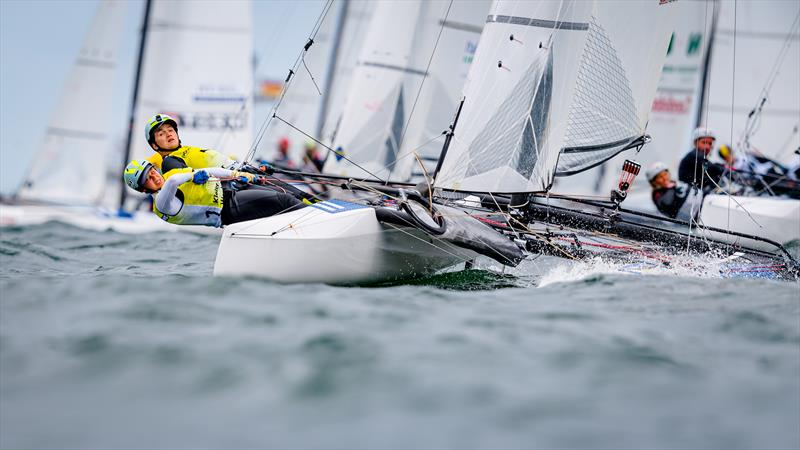Kohlhoff and Stuhlemmer (GER) during Kiel Week part 2 - photo © Kiel Week / Sascha Klahn