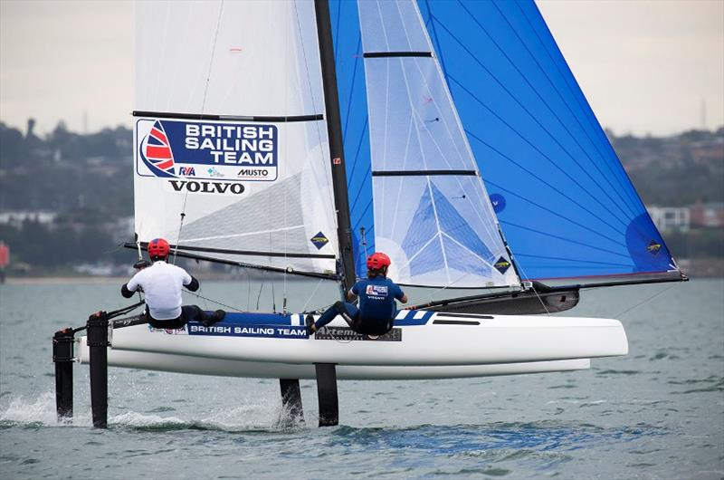 John Gimson and Anna Burnet - 2020 49er, 49erFX and Nacra 17 World Championships, day 3 - photo © Sailing Energy