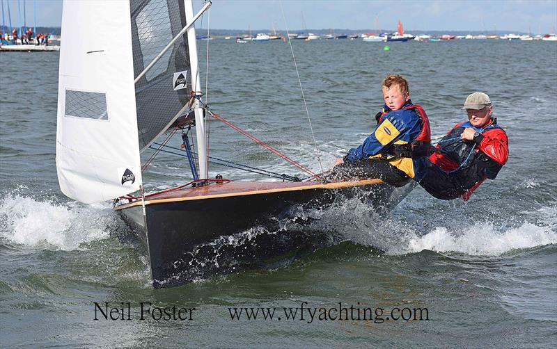 Steve Le Grys sailing his National 12 - photo © Neil Foster / www.wfyachting.com