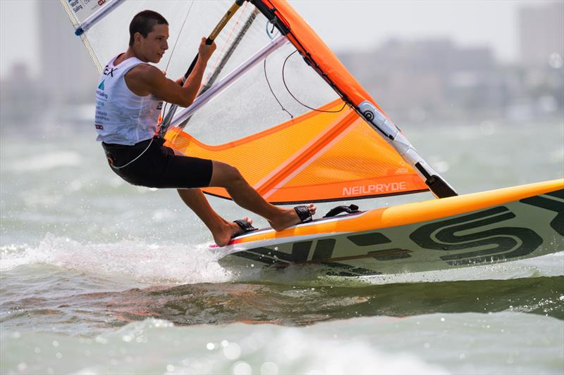 Mens RS:X - Youth Worlds 2018, Corpus Christi - Day 1 - photo © Jen Edney / World Sailing