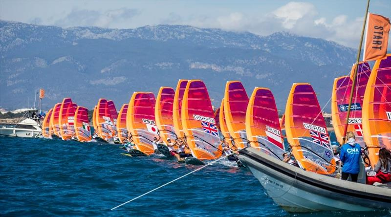 2019 RS:X Windsurfing European and Youth European Championships & Open Trophy - photo © Sailing Energy / CNA / RS:X Class