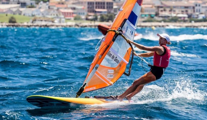 Lilian de Geus (NED) on day 3 of the Hempel World Cup Series Final in Marseille - photo © Sailing Energy / World Sailing