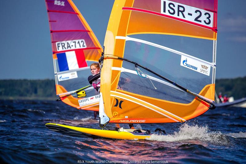 2019 RS:X Youth World Championship - Day 1 photo copyright Anya Semeniouk taken at Yacht Club of Saint-Petersburg and featuring the RS:X class