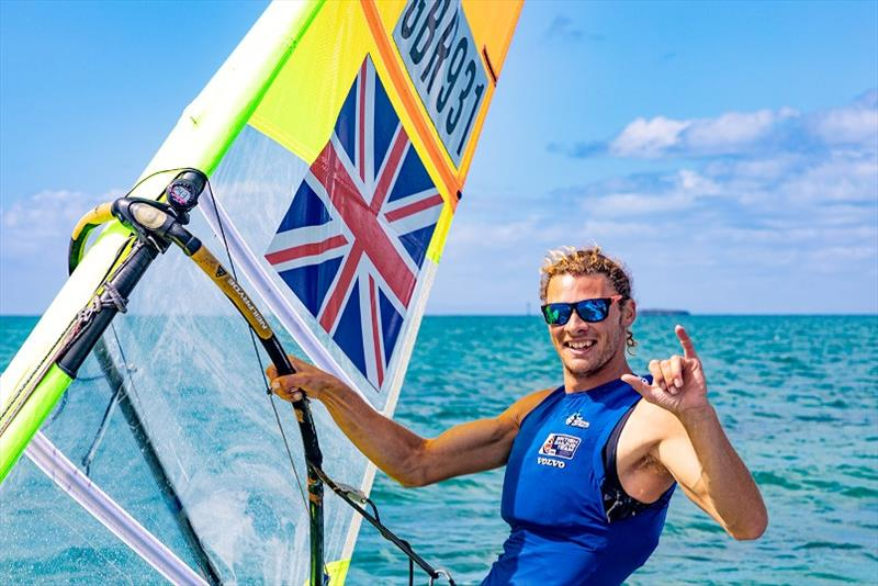 Tom Squires - 2020 RS:X Windsurfing World Championships, final day - photo © Caitlin Baxter