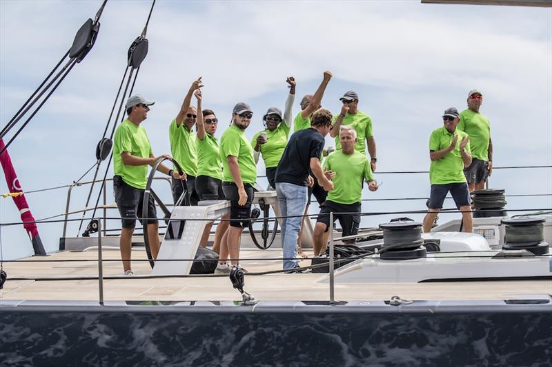 Win Win is the Overall Winner at the 2019 Superyacht Cup Palma - photo © Sailing Energy