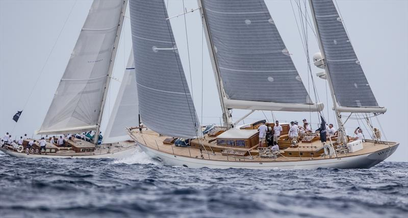 Bequia wins Class C at the 2019 Superyacht Cup Palma - photo © Sailing Energy