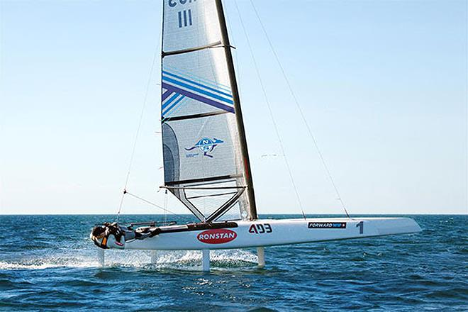 North Sails new Decksweeper 2 Mainsail for the A-Class - photo © North Sails