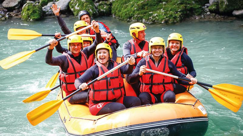 Summer rafting at Tignes - photo © Alpine Elements