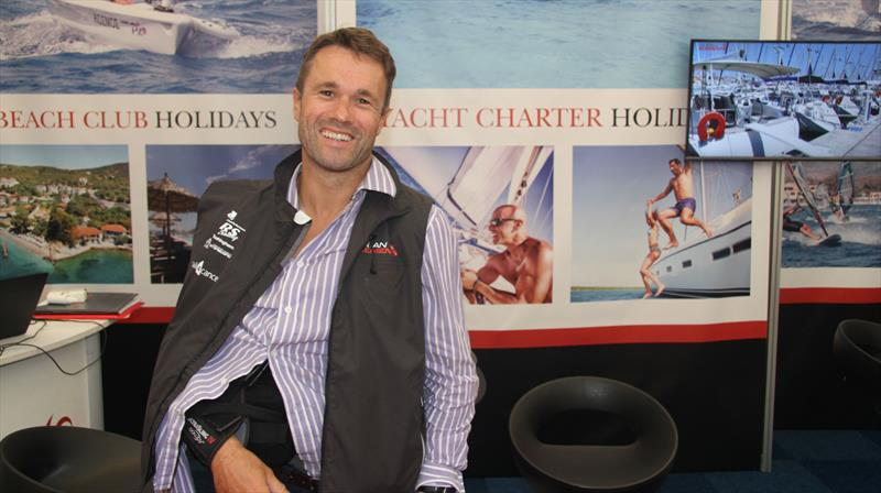 Ocean Element MD James Hardiman after his shoulder surgery - photo © Mark Jardine / YachtsandYachting.com