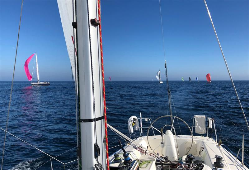 A light wind start to the SORC Guernsey to Cowes race - photo © James Hardiman