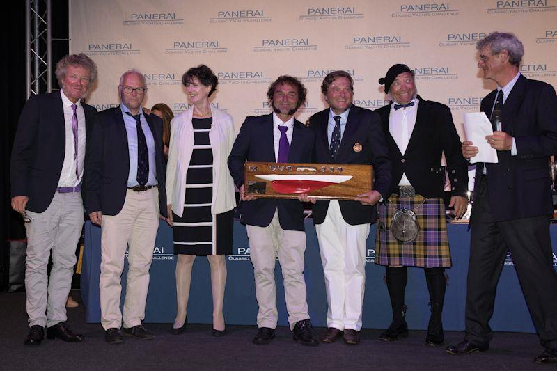 Highest placed gaffer trophy awarded at Panerai British Classic Week 2019 photo copyright Chris Brown taken at British Classic Yacht Club and featuring the Gaffers class