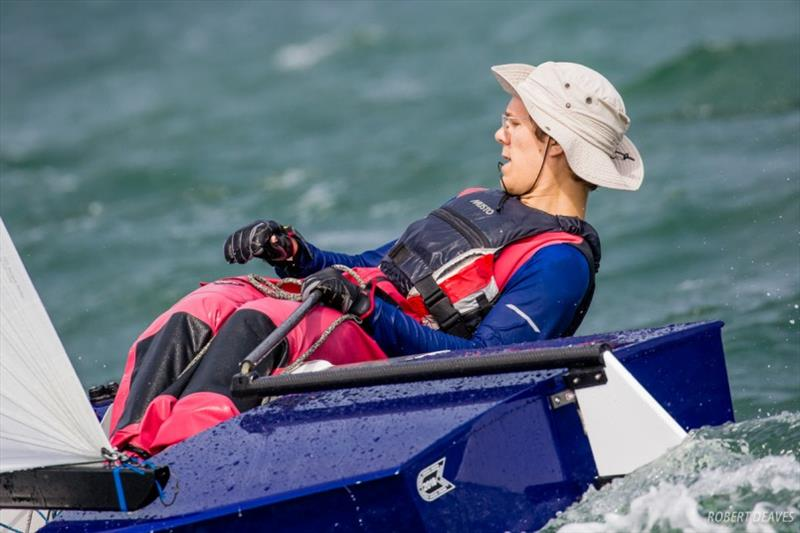 European Champion Lars Johan Brodtkorb will be taking part in his first OK Dinghy Worlds - photo © Robert Deaves