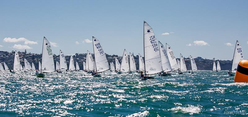 Race 2 first reach - Symonite OK Worlds, Day 2 - photo © Robert Deaves