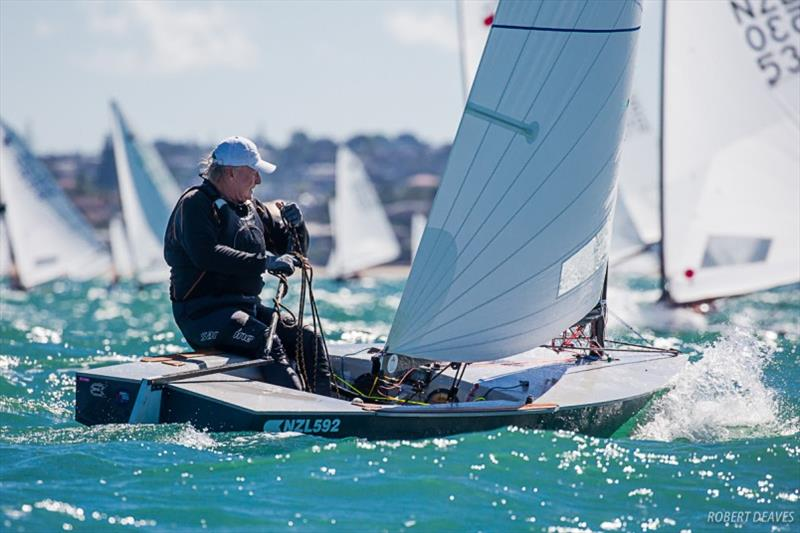 Leading Master, Rod Davis - Symonite OK Worlds, Day 2 - photo © Robert Deaves