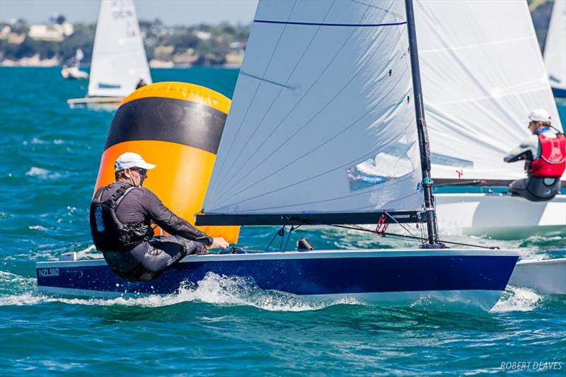 Dan Slater - Symonite OK Dinghy Worlds, Day 4 - photo © Robert Deaves