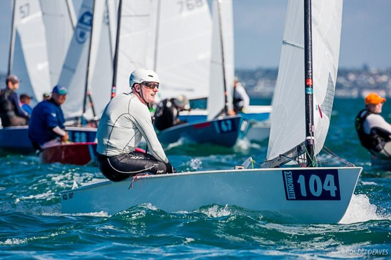 Gordon Sims - Symonite OK Dinghy Worlds, Day 4 - photo © Robert Deaves
