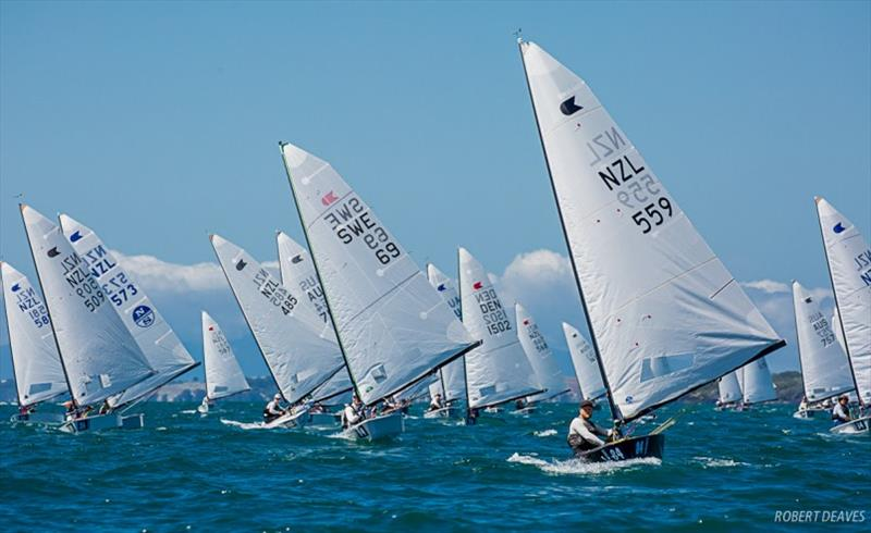 Race 6 - Symonite OK Dinghy Worlds, Day 4 - photo © Robert Deaves