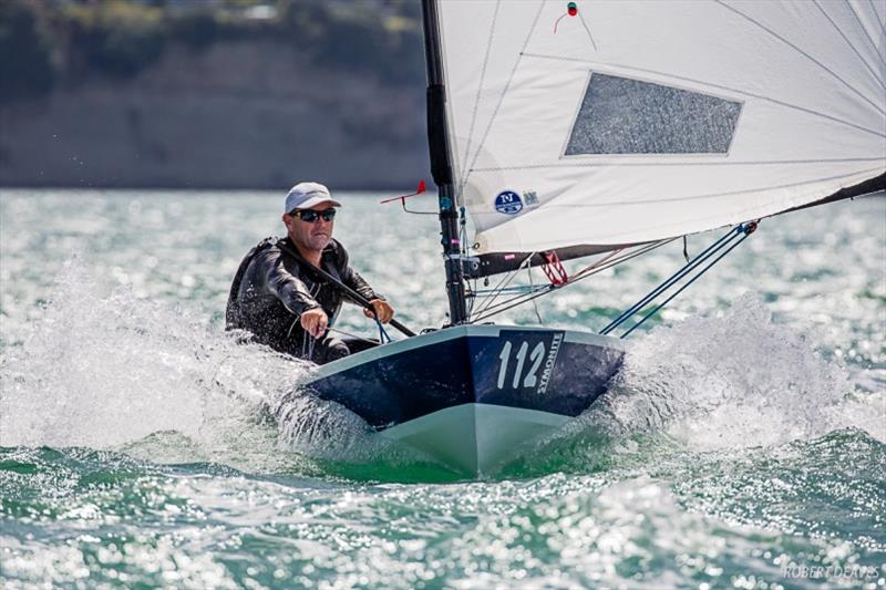 Dan Slater's winning hull was a Dan Leech design - 2019 Symonite OK Dinghy World Championship - photo © Robert Deaves