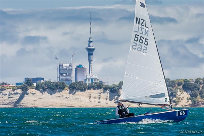 The 2019 Symonite OK Dinghy World Championship was held in Auckland - photo © Robert Deaves