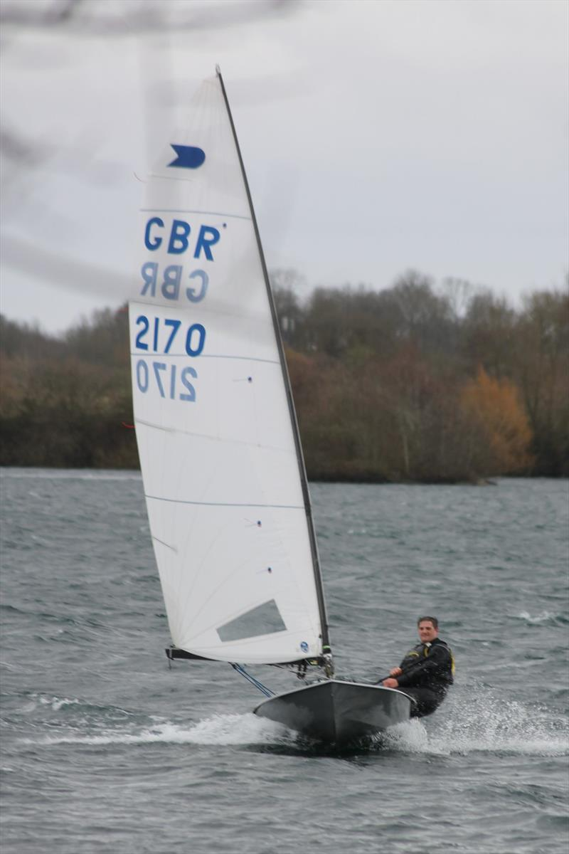 OK Sprint Championship at Burghfield photo copyright Mary Reddyhoff taken at Burghfield Sailing Club and featuring the OK class