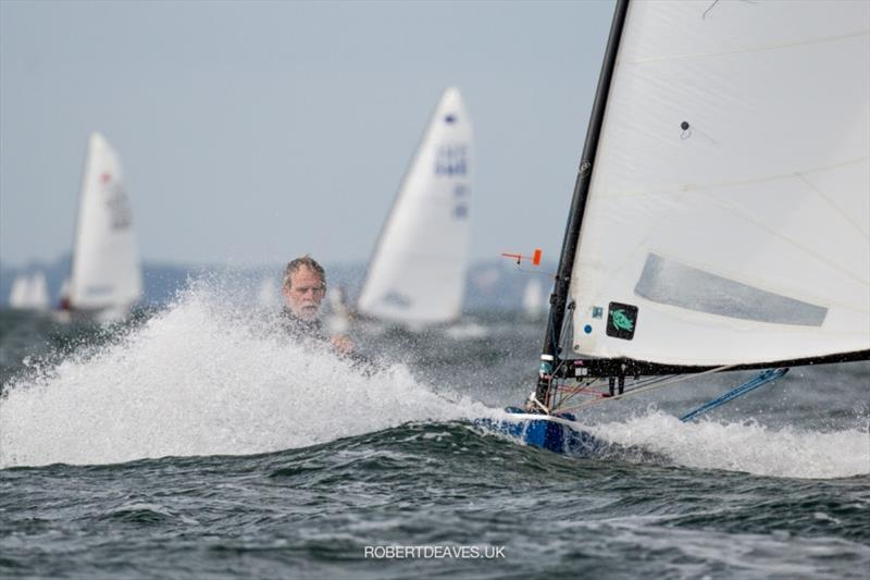 Ralf Tietje - Kieler Woche 2020 photo copyright Robert Deaves taken at Kieler Yacht Club and featuring the OK class