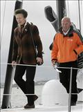 HRH Princess Royal names Mike Golding's Open 60 at the PSP Southampton Boat Show © onEdition