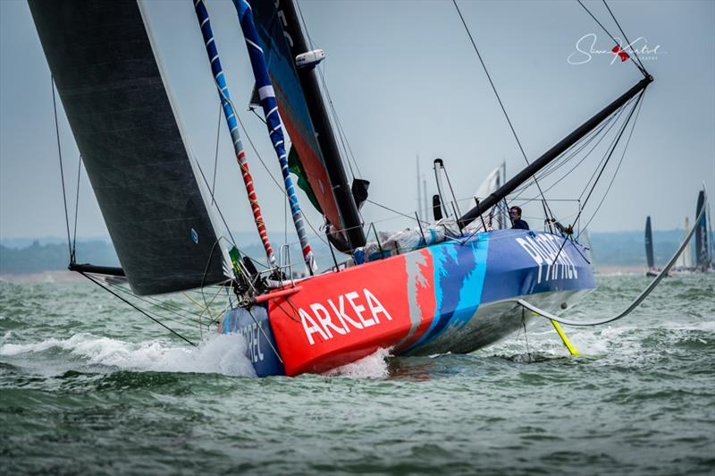 2019 Rolex Fastnet Race start - photo © Sam Kurtul / www.worldofthelens.co.uk