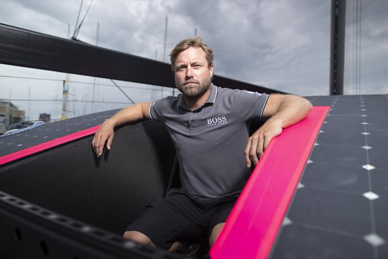 The radical new Hugo Boss IMOCA 60 aimed at winning the Vendee Globe - photo © Lloyd Images