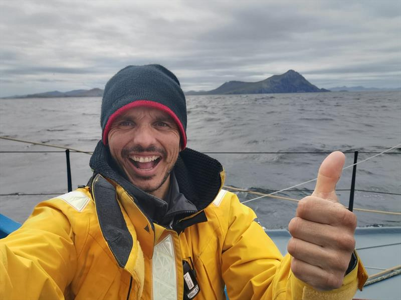 Didac Costa at Cape Horn in the Vendée Globe photo copyright Didac Costa #VG2020 taken at  and featuring the IMOCA class