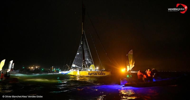 Louis Burton second across the line in the Vendée Globe 2020/21