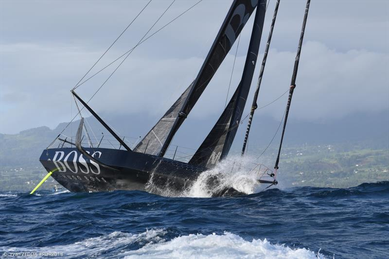 Alex Thomson (Hugo Boss) - 2018 Route du Rhum-Destination Guadeloupe - photo © IMOCA