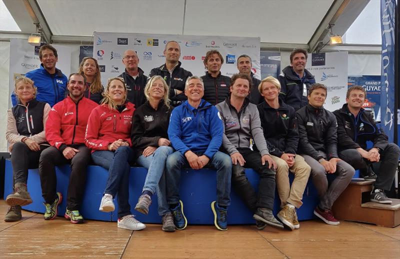 16 of the 17 solitaires who will start the Bermuda 1000 RACE, tomorrow at 17h00 - photo © Marine Kerduel / IMOCA