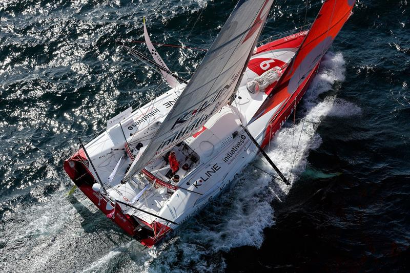 2019 Azimut Challenge photo copyright Team Initiatives Coeur taken at  and featuring the IMOCA class