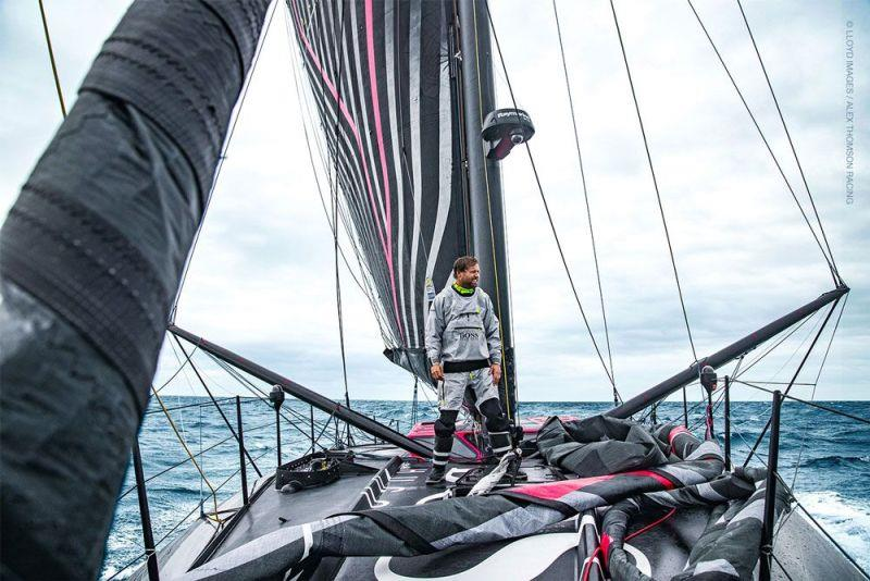 Alex Thomson photo copyright Lloyd Images / Alex Thomson Racing taken at  and featuring the IMOCA class