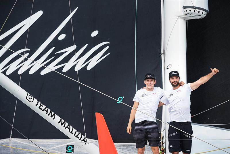 Malizia II - Yacht Club de Monaco skippers Boris Herrmann and Will Harris take 12th place of the Imoca category of the Transat Jacques Vabre on November 11, in Bahia, Brazil.  - photo © Jean-Louis Carli / Alea