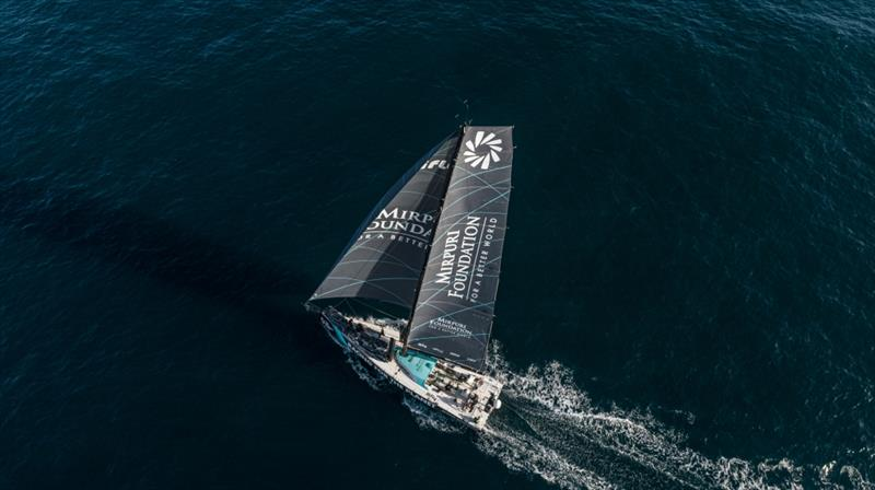 The Ocean Race: The Mirpuri Foundation photo copyright Jonno Turner taken at  and featuring the IMOCA class