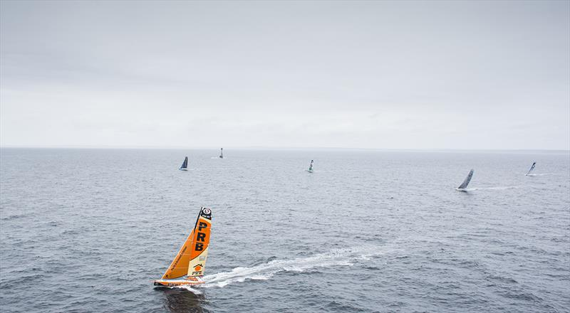 Seventeen 60-foot IMOCA monohulls will be lining up at the start of the 3,400-mile sprint, including five new foilers.  - photo © Lloyd Images